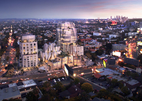 Gehry unveils design for mixed-use development on LA's Sunset Strip | green streets | Scoop.it