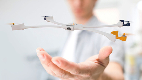 A Wearable Concept Camera That 'Flies' Off Your Wrist, Takes Your Photo | Rise of the Drones | Scoop.it