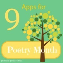 9 Mobile Apps for Poetry Month | Edtech PK-12 | Scoop.it