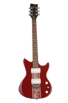 6e0b8721be5 First Act ME474 Electric Guitar with Double Cutaway (Red