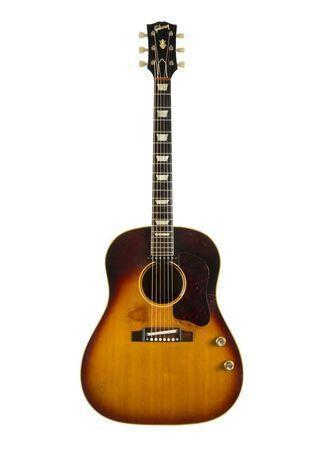 """John Lennon's long lost Gibson guitar up for sale 