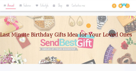 Birthday Gift Delivery In India From USA UK In Online Gifts