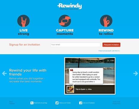 Rewindy Brings Visual Storytelling vs Photo Sharing | Social Media Photography | Scoop.it