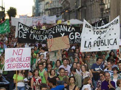 Segunda 'marea verde' en Madrid contra los recortes en educación | Cuidando... | Scoop.it