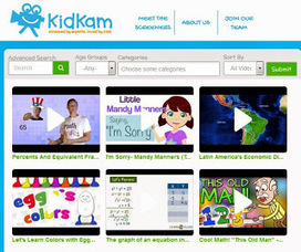Digital Drifting: KidKam - Videos for Kids | Digital Directions in Education | Scoop.it