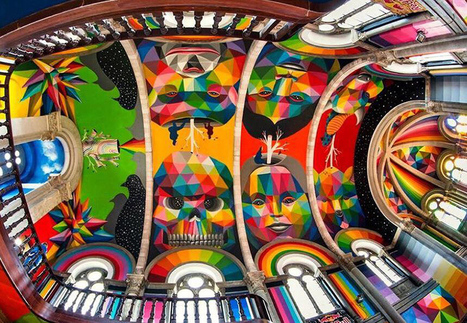 Holy Art! 13 Spectacular Secular Installations in Sacred Spaces | Socialart | Scoop.it