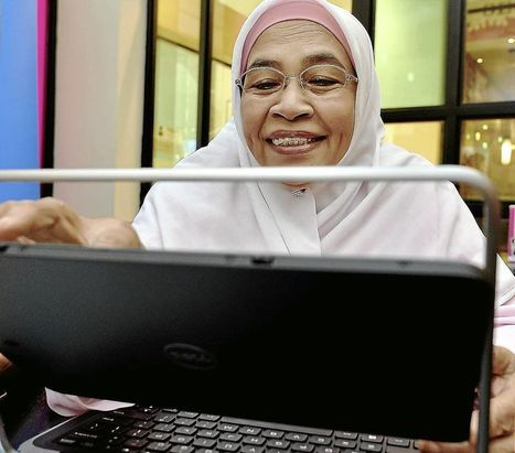 Tech-savvy granny - The Star Online | elderly,technology and learning | Scoop.it