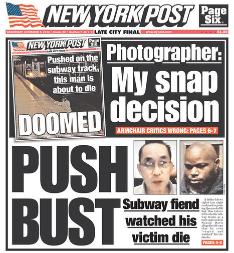 NY Post photog: 'Every time I close my eyes, I see the image of death' | Poynter. | iPhoneography attempts and journalism | Scoop.it