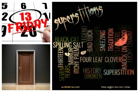 Friday The 13th Superstitions | Topical English Activities | Scoop.it