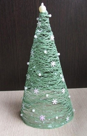 Merveilleux Créer Un Sapin De Noël Miniature Et Original   Idée Créative