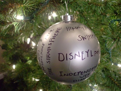 Memories Homemade Christmas Ornament | It's Show Prep for Radio | Scoop.it