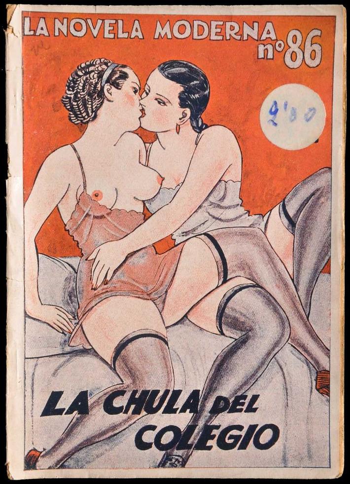 Vintage Lesbian Illustration   Sex History   Scoop.it