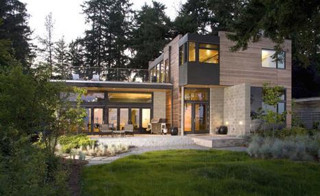 Ellis Residence: A Stunning LEED Platinum Home on Bainbridge Island | sustainable architecture | Scoop.it