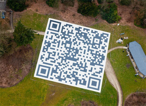 Gigantic QR code – 1.315 square meters « QR Code ® Artist | AniseSmith QR codes | Scoop.it