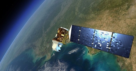 What It Looks Like When One Satellite Sees Another | Remote Sensing, Fire History and Biodiversity | Scoop.it
