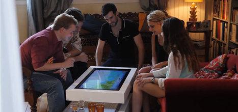 Une table basse connectée à la française | Immobilier | Scoop.it