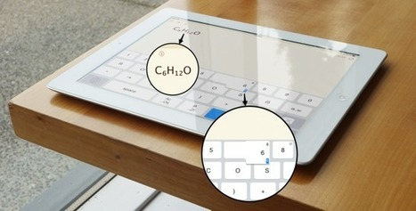 Typing Subscripts on an iPad - Douchy's Blog | iPad Apps for Education | Scoop.it