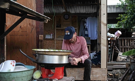 The artist who took a 'slum vacation' to Thailand's biggest shanty town | Urbanism 3.0 | Scoop.it