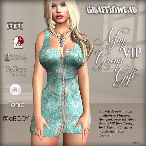 Zipped Dress May 2017 Group Gift by Graffitiwea