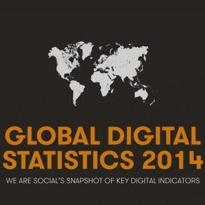 Social, Digital & Mobile Worldwide in 2014 | Social Media Today | ProfySpace | Scoop.it