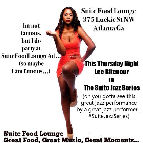 That's this Thursday night Jazz great Lee Ritenour #SuiteLoungeAtl #SuiteJazzSeries #ItsASuiteExperience | GetAtMe | Scoop.it