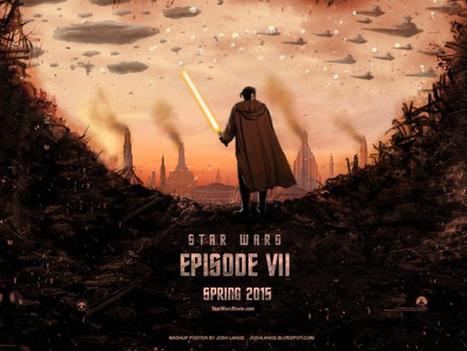 Des fans talentueux réalisent de magnifiques affiches de Star Wars : Episode VII | SuperGeeky | Scoop.it