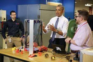 Le jour où la Maison Blanche s'est transformée en Fablab | Fab-Lab | Scoop.it