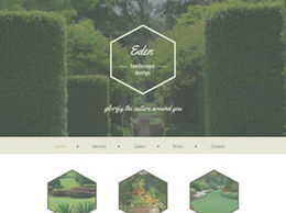Free Eden HTML5 Template - Designsave.com | Web Increase | Scoop.it