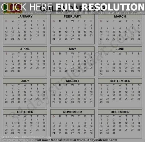 2019 Sri Lankan Government Calendar Template |