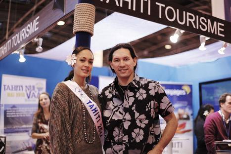 Salon Nautique de Paris : le GIE Tahiti Tourisme crée l'événement | TAHITI Le Mag | Scoop.it