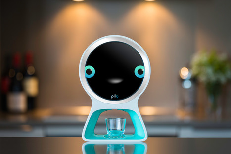 A connected home robot that could take care of your health - Design Week | mHealth- Advances, Knowledge and Patient Engagement | Mobile Healthcare | Scoop.it