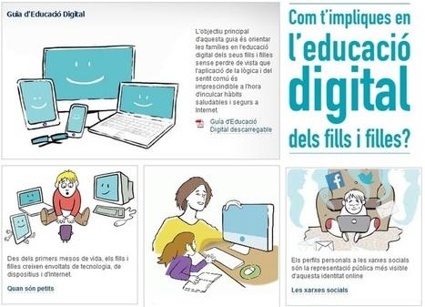 L'educació digital dels infants en una guia | Escola i Educació 2.0 | Scoop.it