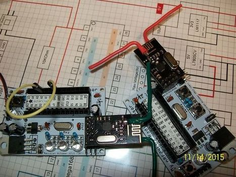 Enhanced NRF24L01 radio with a DIY Dipole Antenna modification | Home Automation | Scoop.it