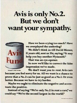 The Sell! Sell! Blog: Advertising Greatness #2: Avis   A Cultural History of Advertising   Scoop.it