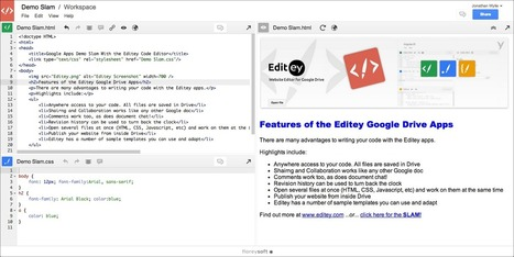 How to Use Google Drive to Teach Coding in the Classroom | Pédagogie hacker | Scoop.it