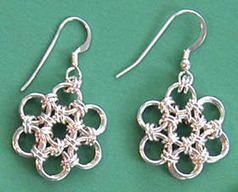 Free Chain maille Jewelry Patterns DIY Chain