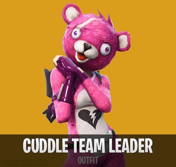 Fortnite cuddle team leader outfit fortnite - Cuddle team leader from fortnite ...