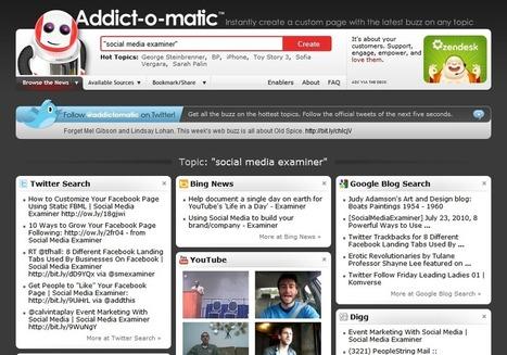 3 Free Social Monitoring Tools | Social Media Examiner | Best of Social Media Tools, Tips & Resources | Scoop.it