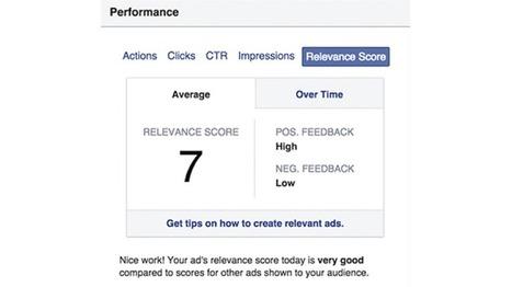 Facebook lance son propre indice de pertinence (Relevance Score) - Ludis Media | Veille Réseaux sociaux | Scoop.it