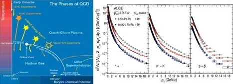 An overview of experimental results from ultra-relativistic heavy-ion collisions at the CERN LHC: Bulk properties and dynamical evolution | Nuclear Physics | Scoop.it