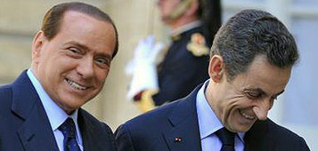 Gli auguri si Silvio al candidato Sarkozy. Ma i sondaggi danno Hollande in vantaggio - Affaritaliani.it | GOSSIP, NEWS & SPORT! | Scoop.it
