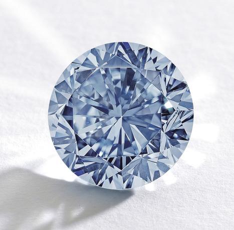 Premier Blue: The Largest Round Fancy Vivid Blue Diamond for Sale | Bornrich | Waldman Group Investment Diamonds Wholesale | Scoop.it