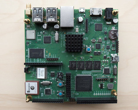 Crystal Board Combines Rockchip RK3188 ARM SoC with Xilinx FPGA and Arduino Compatible Board (Crowdfunding) | Embedded Systems News | Scoop.it