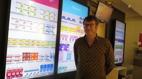 ROUBAIX - Des écrans à la place des étagères dans une pharmacie | De la E santé...à la E pharmacie..y a qu'un pas (en fait plusieurs)... | Scoop.it