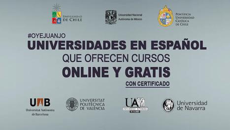 Universidades en español que dictan cursos online gratis | El rincón de mferna | Scoop.it