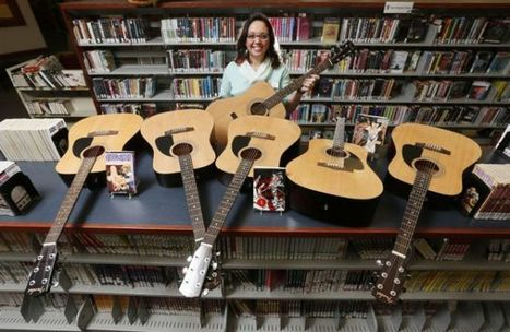 Licking library now loaning guitars | Libraries & Librarians | Scoop.it