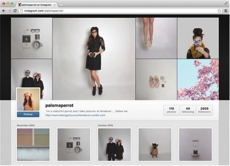 Les Profils Instagram Arrivent En Version Web   Emarketinglicious.fr   Social Media for dummies   Scoop.it