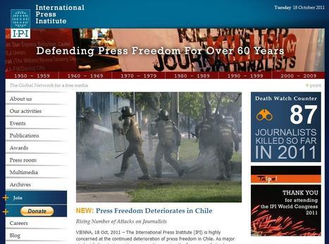 International Press Institute | Top sites for journalists | Scoop.it