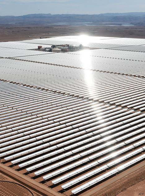 Ce qui deviendra la plus grande centrale solaire du monde a été inaugurée dans le désert du Maroc | HCPV | Scoop.it