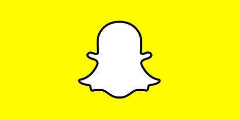 Snapchat pour les marques : tout comprendre en moins de cinq minutes | Communication digitale | Scoop.it